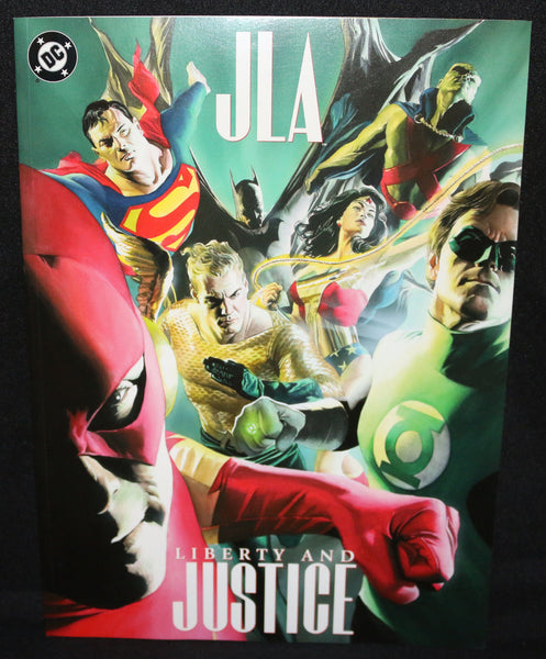 JLA Liberty And Justice Alex Ross Treasury First Print VFNM