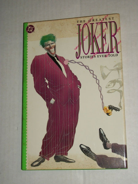The Greatest Joker Stories Ever  Hardcover w/ DJ First Print 1988 VF