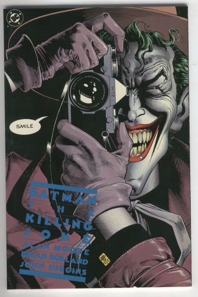 Batman The Killing Joke Graphic Novel Fifth Printing VF