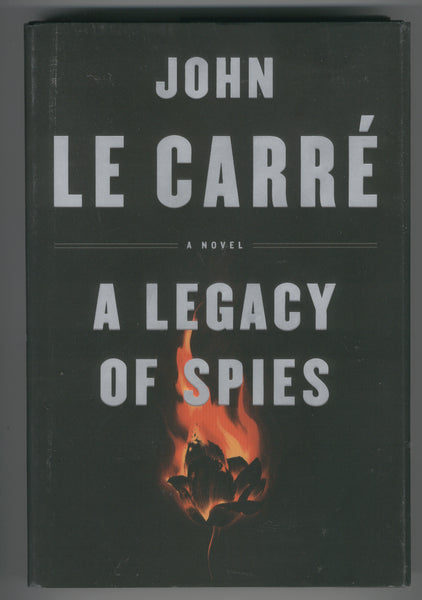 John LeCarre A Legacy Of Spies Hardcover w/ DJ First Edition FN