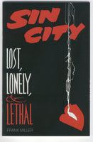Sin City Lost, Lonely & Lethal Frank Miller Mature Readers FVF