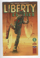 Liberty Comics #2 CBLDF Mature Readers FN