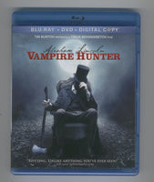 Abraham Lincoln Vampire Hunter Blu-Ray + DVD + Digital Copy previewed Great Movie in Great Condition