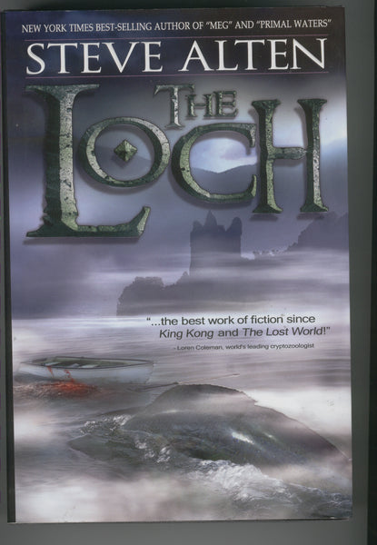 Steve Alten The Loch Hardcover w/ DJ 2005 First Edition VF