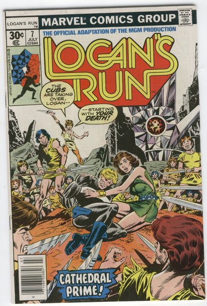 Logan's Run #7 The Cubs Take Over Bronze Age Last Issue VF