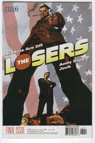 The Losers #32 All Bets Are Off HTF Last Issue DC Vertigo NM
