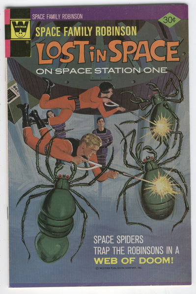 Space Family Robinson Lost In Space #49 Whitman Cover Bronze Age Sci-Fi FN