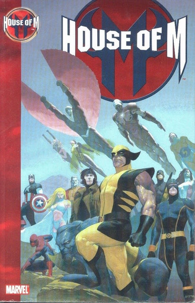House Of M Trade Paperback First Print VFNM