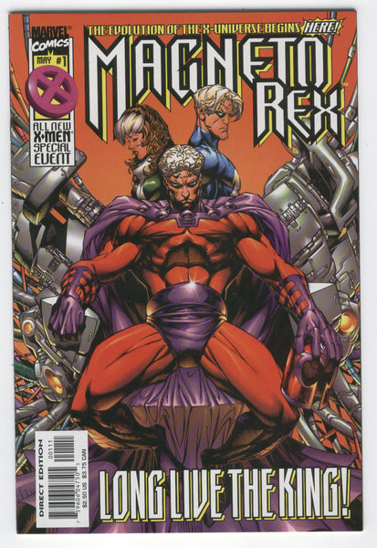 Magneto Rex #1 Long Live The King NM