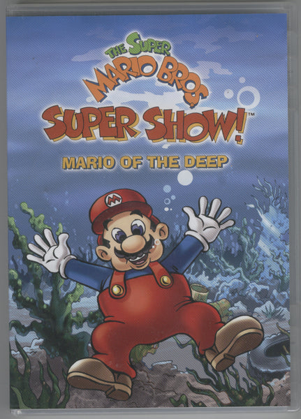 Super Mario Brothers Super Show DVD Mario Of The Deep