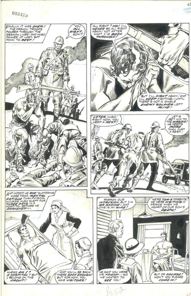Marvel Preview #9 Pg 52 Original Art HTF DeZuniga Bronze Age Excellent