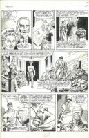 Marvel Preview #9 Man-God Pg 53 HTF DeZuniga Bronze Age Original Art Excellent!