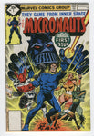 Micronauts #1 They Came From Inner Space Whitman Variant FN