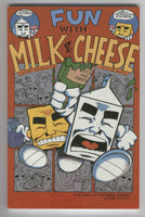 Fun With Milk And Cheese TPB First Print Evan Dorkin Slave Labor Graphics VFNM 1994