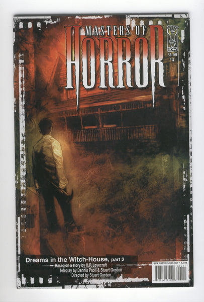 Masters Of Horror #4 Dreams In The Witch-House H.P. Lovecraft IDW 2006