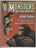 Monsters Of The Movies Magazine #1 King Kong Night Stalker HTF Bronze Age Key FVF