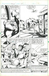 Hulk Magazine #14 page 20 Original Art Moon Knight Abbott & Costello Sienkiewicz HTF