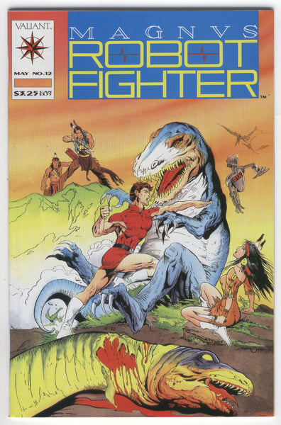 Magnus Robot Fighter #12 First Turok HTF Early Valiant VF