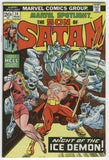 Marvel Spotlight #14 Son Of Satan Night Of The Ice Demon VGFN