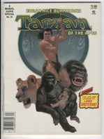 Marvel Super Special #29 Tarzan Of The Apes News Stand Variant VF