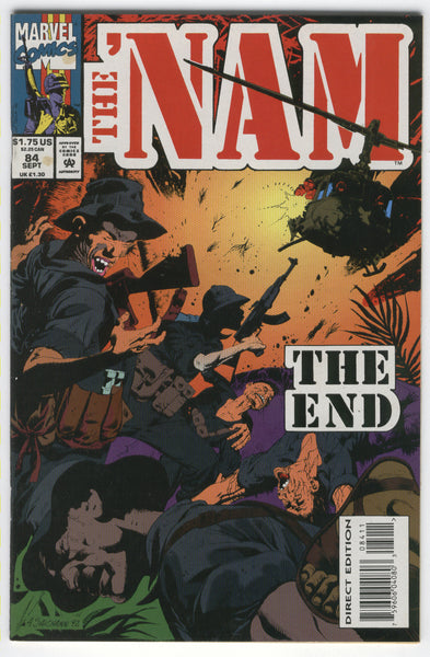 'Nam #84 The End HTF Last Issue That's All She Wrote FVF