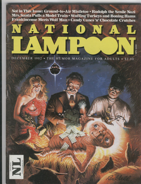 National Lampoon December 1982 ET Mature Readers Only