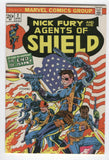Nick Fury And His Agents Of Shield #2 Death Before Dishonor Bronze Age Steranko Cover FN