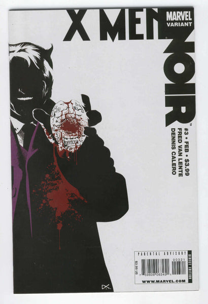 X-Men Noir #3 Variant Edition VF