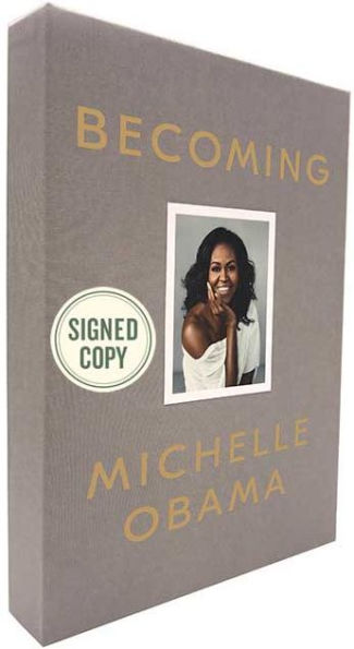 Becoming - Michelle Obama Deluxe Signed First Edition Hardcover New Sealed!