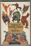 Origins of Marvel Comics By Stan Lee Fireside 5th Print FN