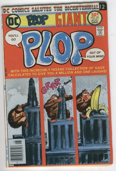 Plop #22 Giant Size Issue VG