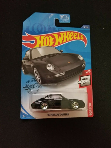 Hot Wheels 2020 Black Porsche Carrera #2/5 #72/250 Sealed On Card New
