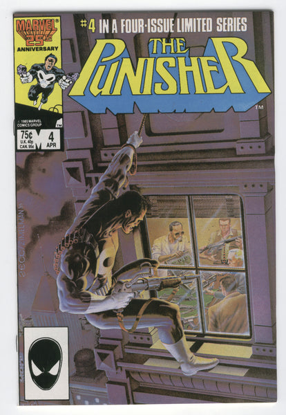 Punisher Original Mini-Series #4 Final Solution Zeck Art Modern Age Key