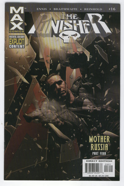 Punisher #16 The Cold War Heats Up! Mature Readers VF