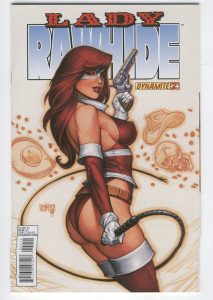 Lady Rawhide #2 Dynamite Entertainment Awesome Linsner Covere VF