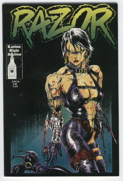 Razor #2 Everette Hartsoe J. O'Barr London Night Studios Mature Readers FN
