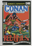 Conan The Barbarian Red Nails Color Special Barry Smith Art 1983 VF