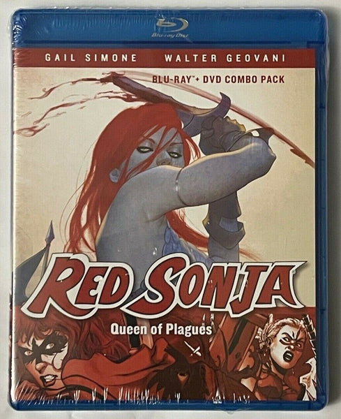 Red Sonja Queen Of Plagues Blu-Ray DVD Combo Pack Sealed New