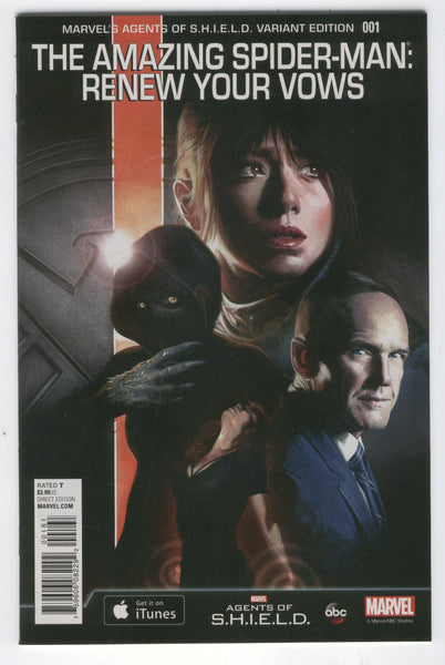 Amazing Spider-Man: Renew Your Vows #1 Agents Of S.H.I.E.L.D Variant VFNM