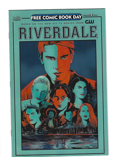 Riverdale Free Comic Book Day 2017 Archie FVF