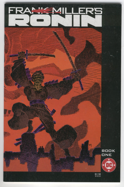 Ronin Book 1 Frank Miller Classic 1983 FVF