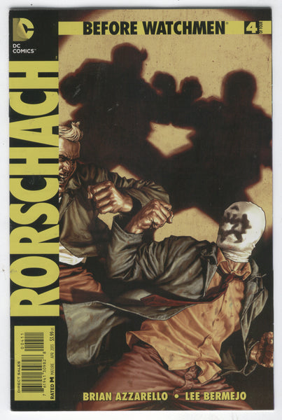 Before Watchmen: Rorschach #4 Give Me Back My Face! Mature Readers FVF
