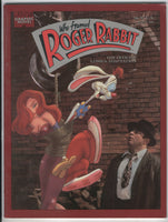 Marvel Graphic Novel Who Framed Roger Rabbit HTF FVF