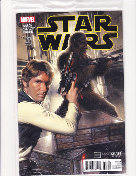 Star Wars #1 Sealed Lootcrate Variant VFNM