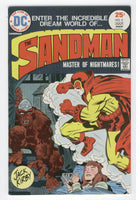 Sandman #3 Master Of Nightmares Bronze Age Jack Kirby Classic Fine