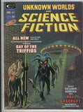 Unknown Worlds Of Science Fiction #1 Day Of The Triffids Bronze Age Key Magazine FVF