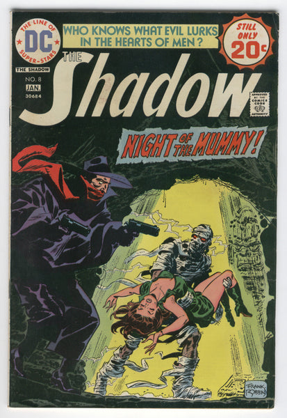Shadow #8 Night Of The Mummy Bronze Age Classic FVF