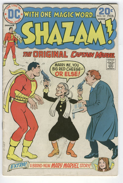 Shazam #10 Bronze Age Big Red Cheese Adventure VGFN