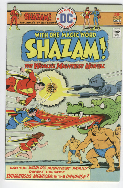 Shazam #20 The World's Mightiest Mortal Bronze Age Classic VGFN