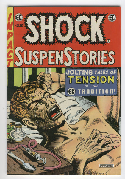 EC Classic Reprint #3 featuring Shock Suspense Stories #12 Jolting Tales 1973